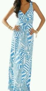 Lilly Pulitzer Maxi sailboat nautical dress NWOT
